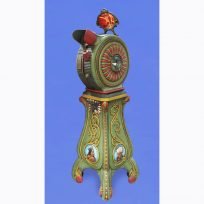 Mutoscope. Special Cast model for 1900 World Fair