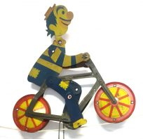 Old Bicycle riding Clown