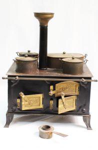 1890 German toy kitchen
