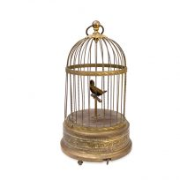 Wind up whistling bird